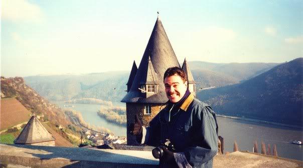 Burg Stahleck on the Rhein River in Rheinland-Pfalz