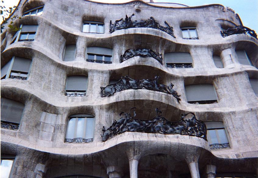 Antoni Gaudí's Casa Milà (La Pedrera)