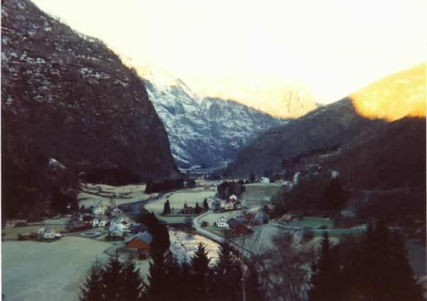 Descent to Flåm