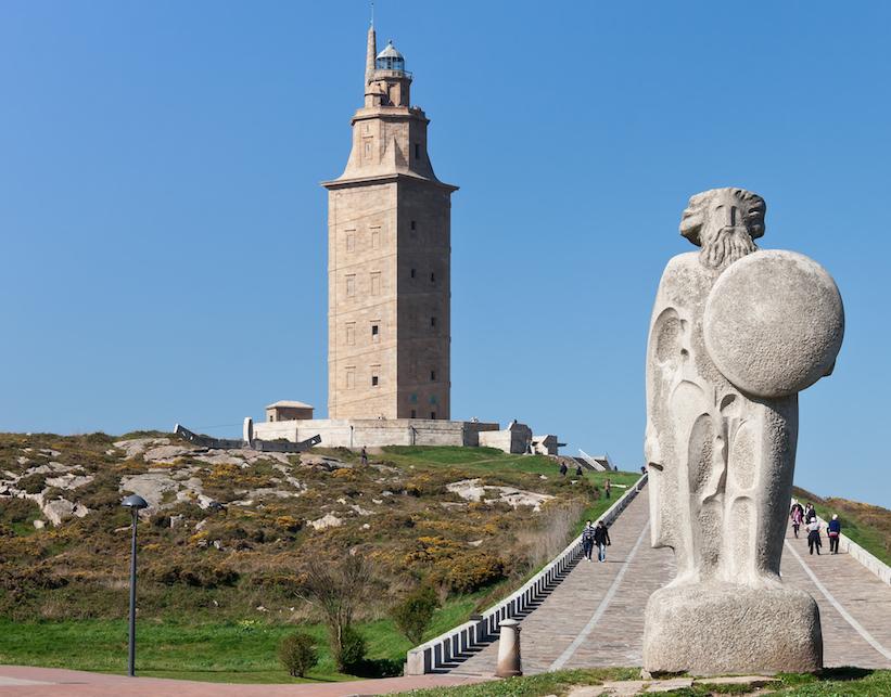 Torre de Hércules lighthouse