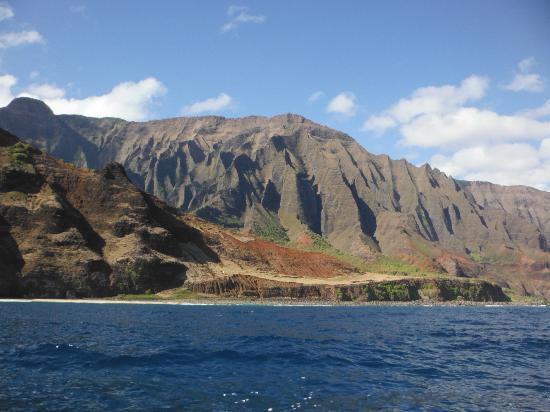 Na' Pali coast by catamaran