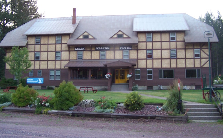 The Izaac Walton Inn & Resort in Essex, Montana