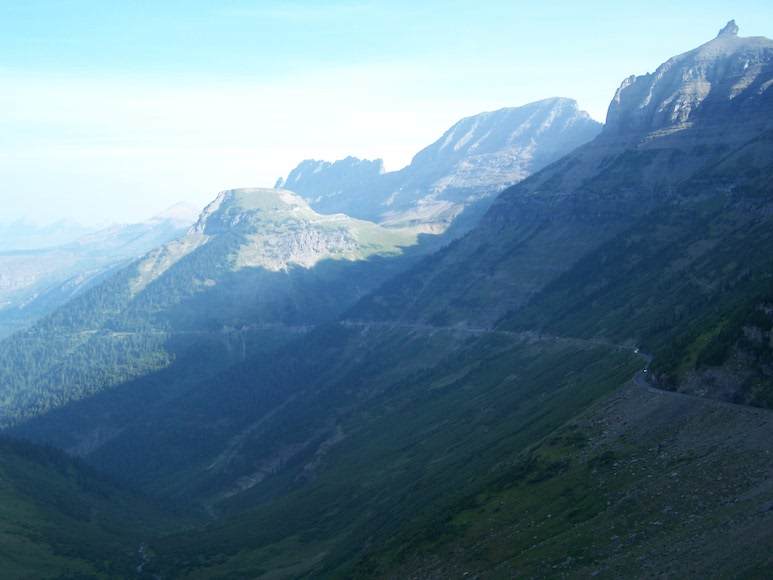 Near Logan Pass