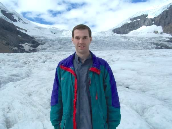 Jeff on the Athabasca Glacier