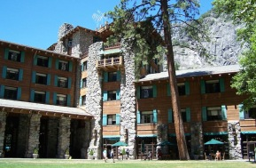 The historic Ahwahnee