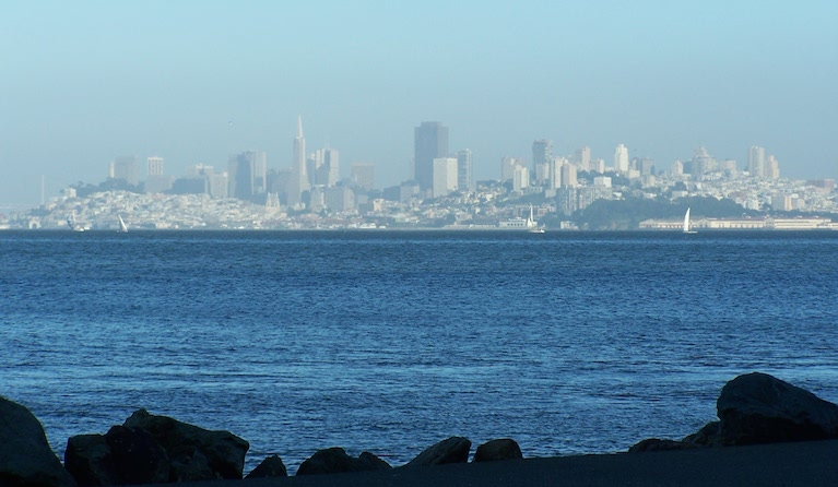 San Francisco from Tiburon