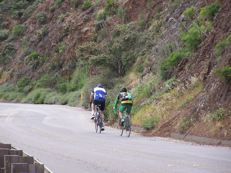 Climbing the Marin Headlands