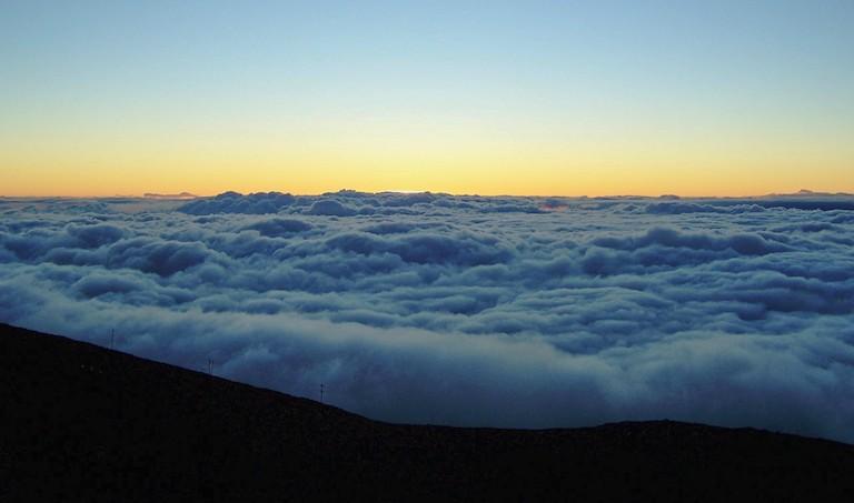 Late afternoon on Haleakala