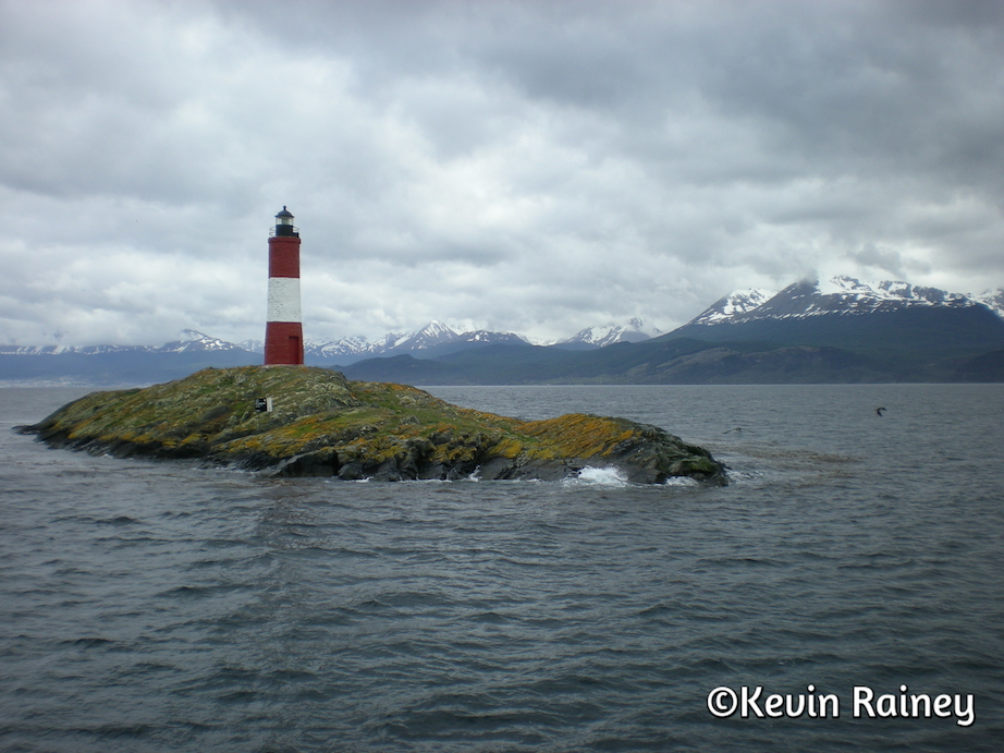 Beautiful lighthouse in the Canal Beagle