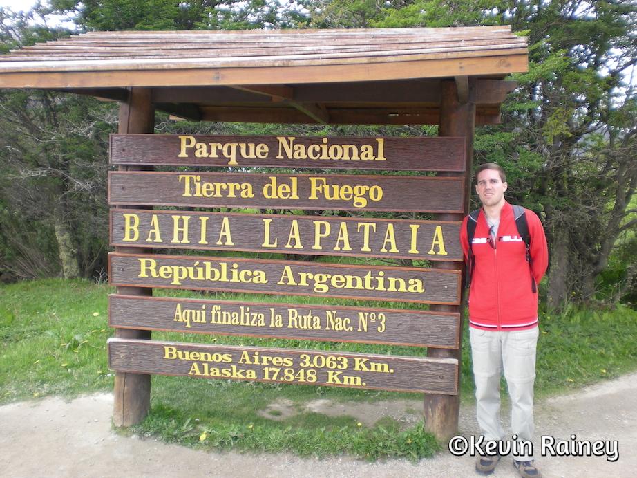 Parque Nacional Tierra del Feugo's Bahí Lapataia