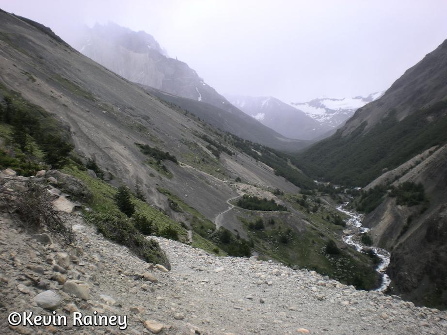 Descending to El Chileno