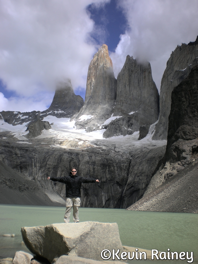 The world-famous Torres del Paine