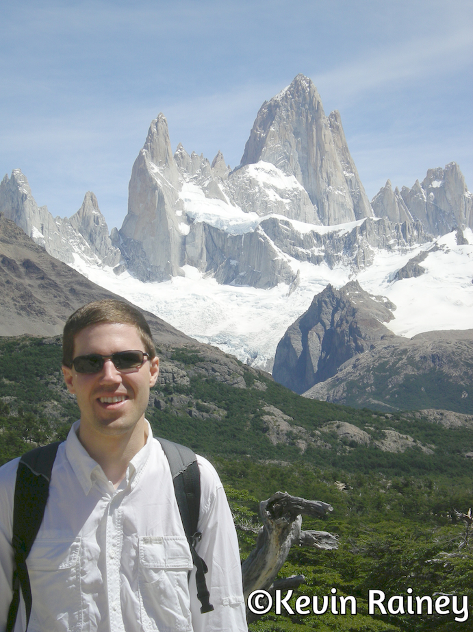 Me with Cerro Fitzroy in the background