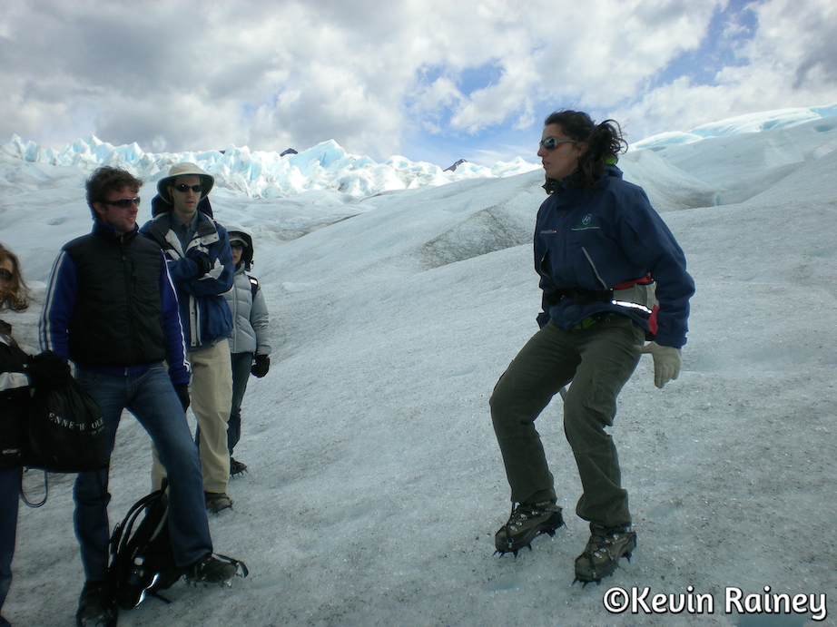 Trekking on the Perito Moreno