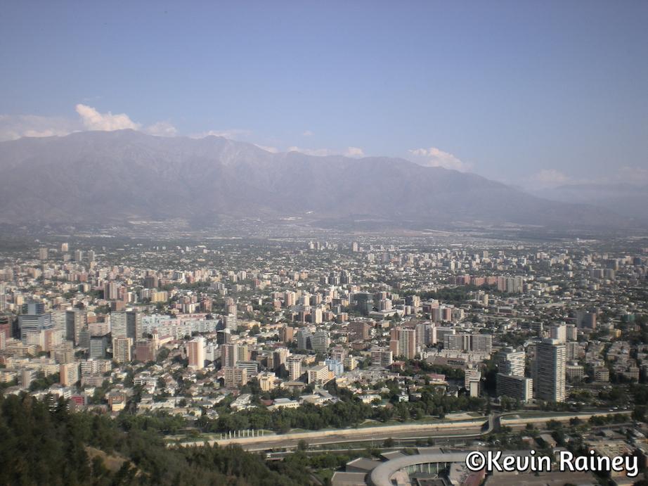 Views from Cerro San Cristóbal