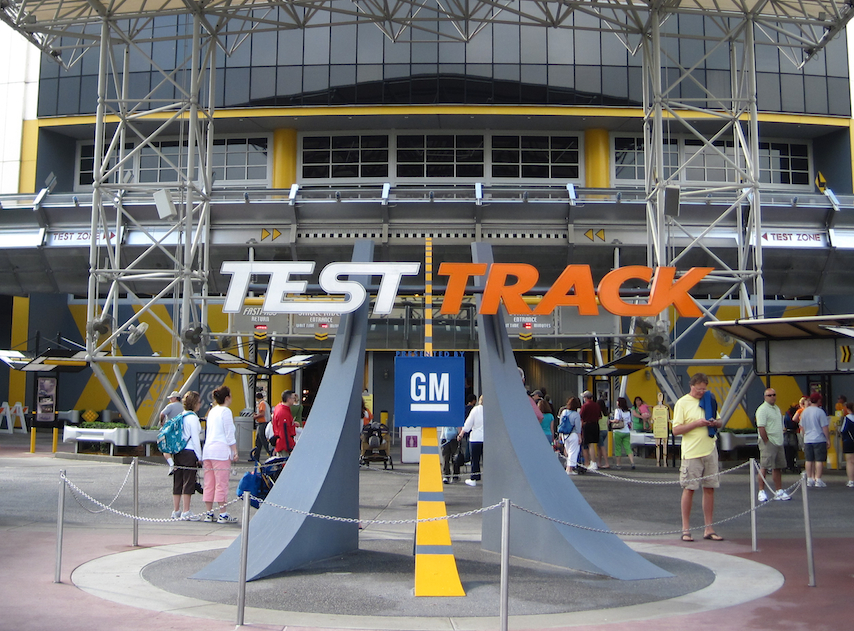 EPCOT's Test Track
