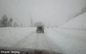 I-80 in the blizzard