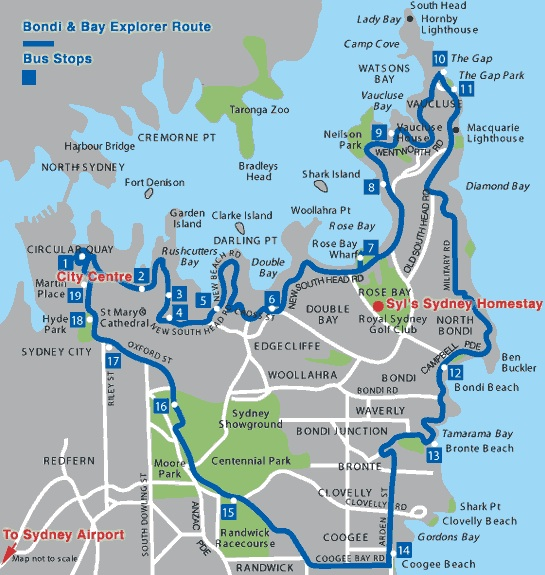 bondi-explorer-bus-map
