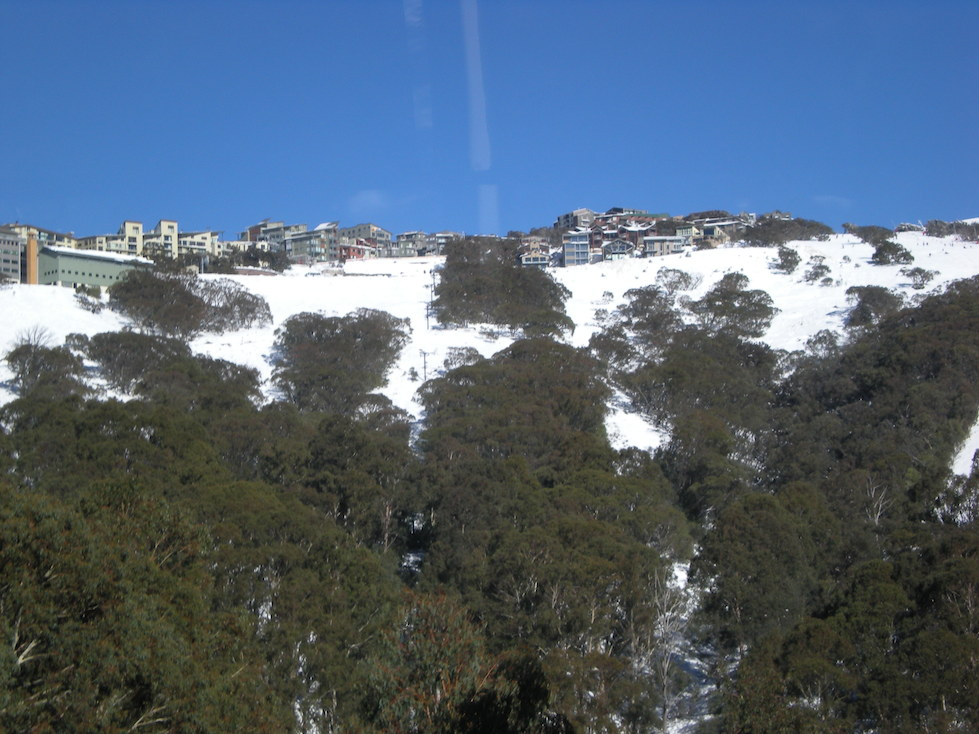 Arriving at Mount Buller