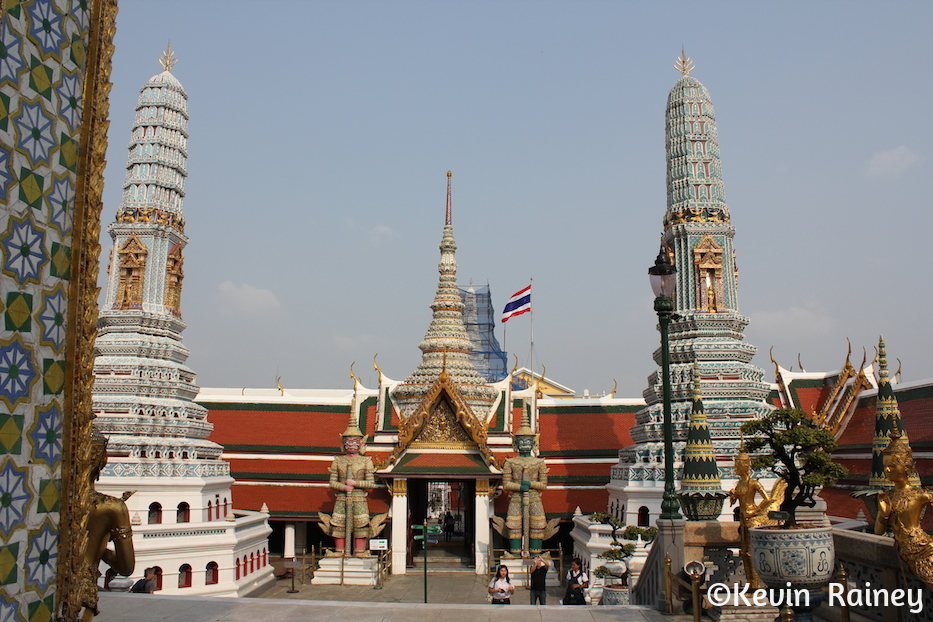 Another view of the Grand Palace complex