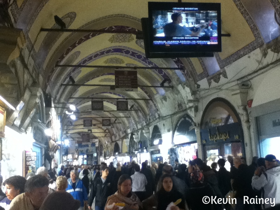 Inside the Grand Bazaar