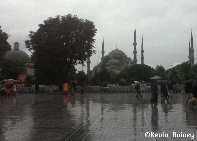The Sultan Ahmed, or Blue Mosque
