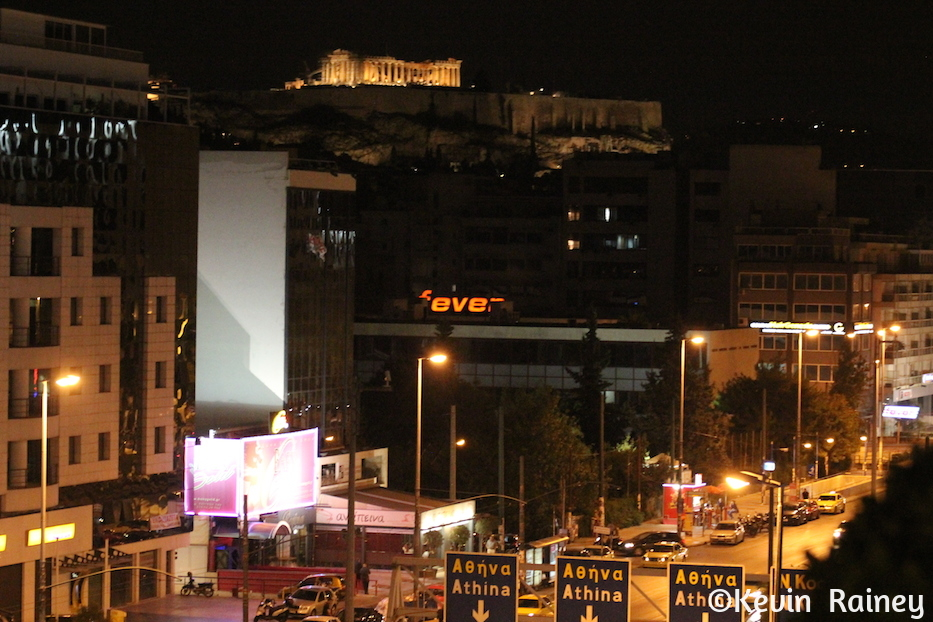 The Acropolis and Parthenon from the Marriott