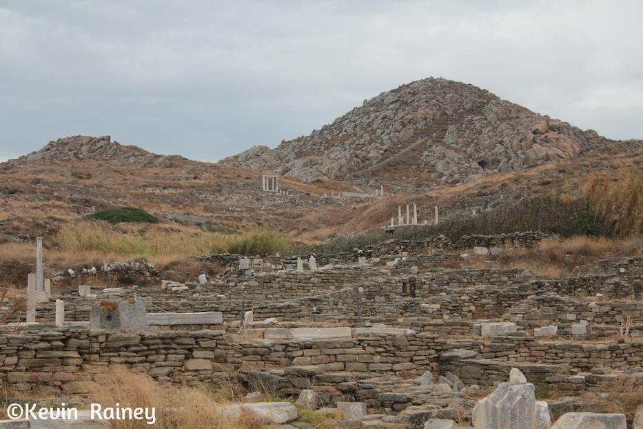 Arriving at Delos