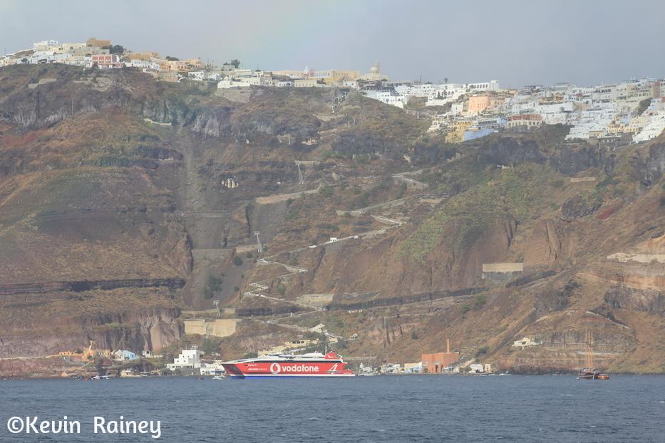 Santorini gondola