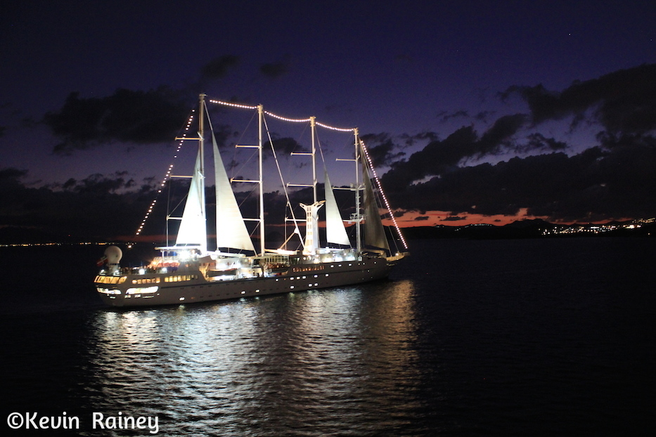 Our sister ship, the Wind Star