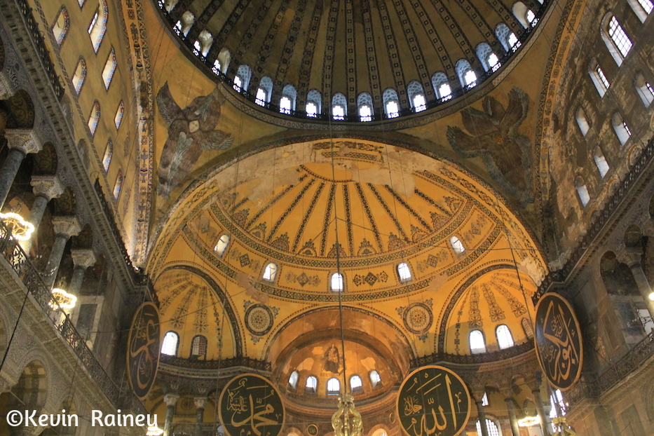 The dome of the Aya Sofya