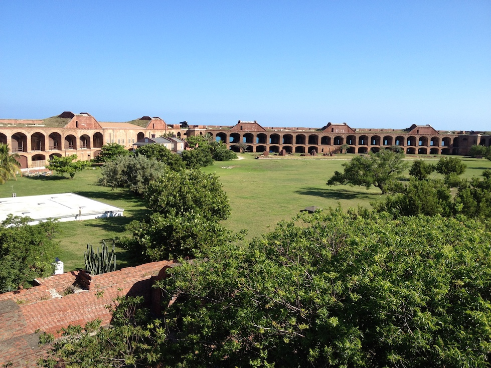 Courtyard of Fort Jefferson