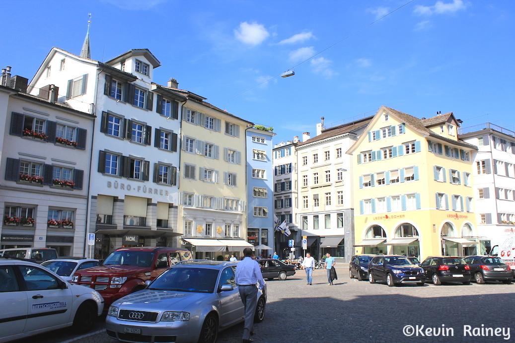 The Altstadt of Zürich