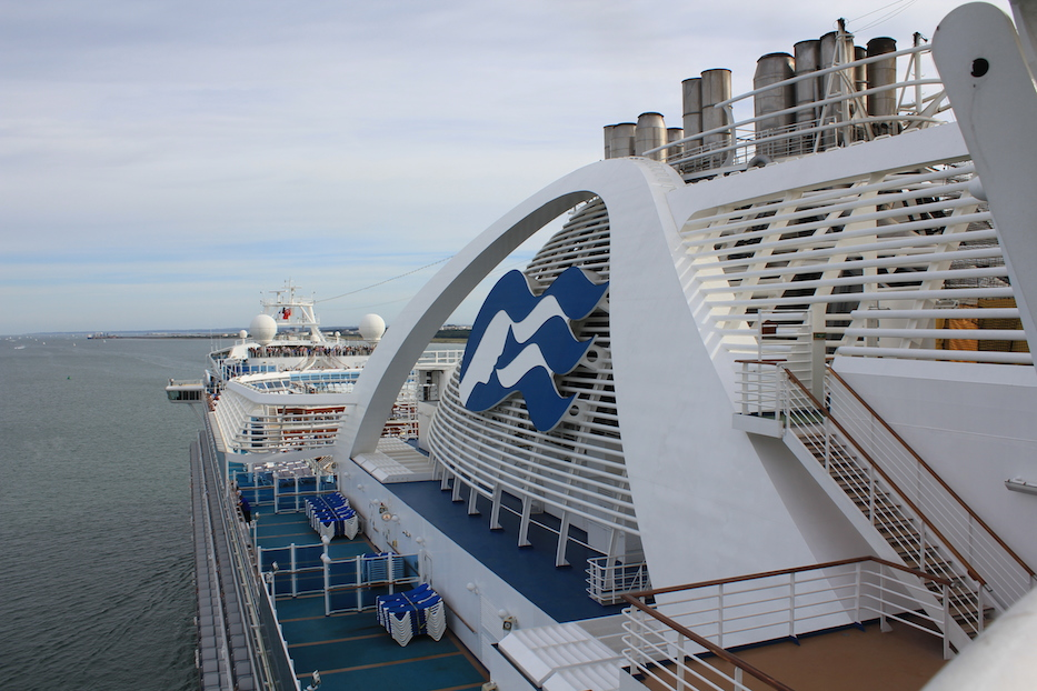 Cruising on the Crown Princess