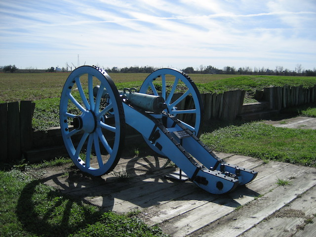 Chalmette Battlefield and the Battle of New Orleans:
