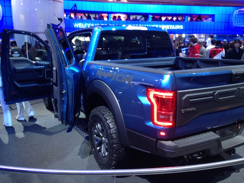 Ford Raptor concept truck