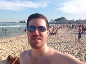 On Copacabana Beach